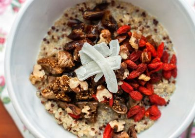 Quinoa & Chia Superfood Porridge  Breakfast